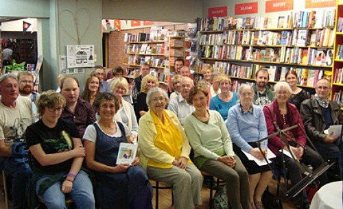 writers group word-weavers-launch-at-nantwich-bookshop