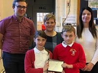 Wrenbury community project wins NHS silver self care award