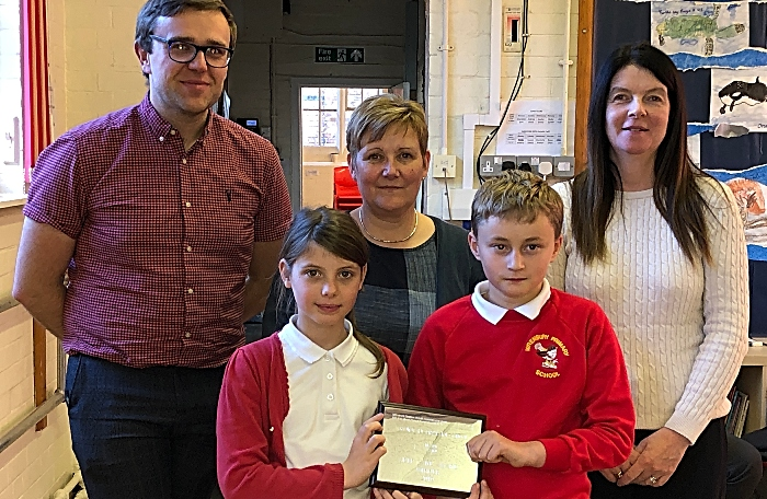 Wrenbury Primary School Self Care Award Presentation (1)