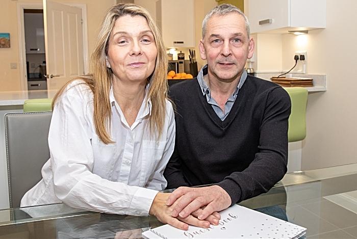 Wrenbury couple get engaged
