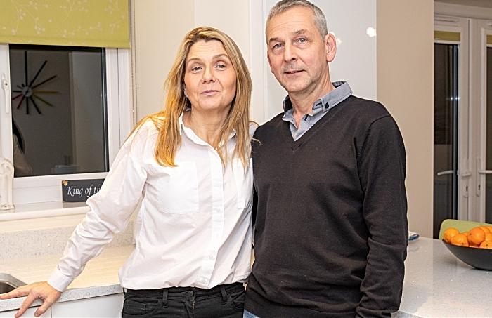 Wrenbury - couple get married