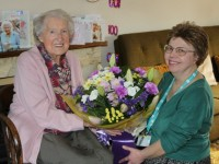 Wrenbury villager enjoys special 100th birthday celebration