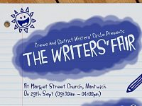 Crewe District Writers' Circle to host Writers Fair in Nantwich