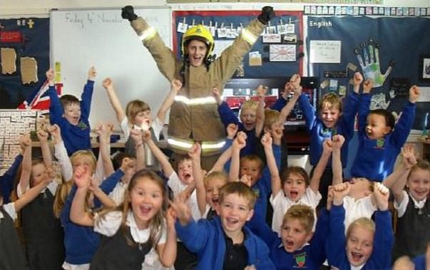 Wybunbury Delves pupils - Ofsted