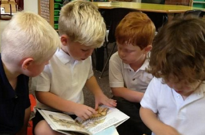 Wybunbury Delves youngsters in class - Ofsted