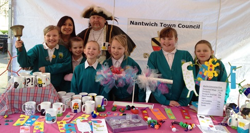 Wyche School with Town Cryer