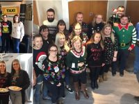 County Group staff spread Christmas cheer in aid of Donna Louise Hospice