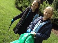 Stapeley pupils complete community litter pick as restrictions ease