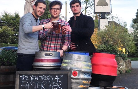 Award-winning village pub near Nantwich stages real ale festival