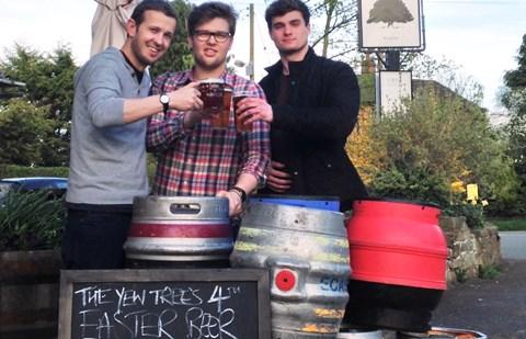 Award-winning village pub near Nantwich stages real ale festival