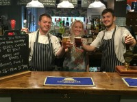 Yew Tree Inn celebrates five years at Bank Holiday beer festival