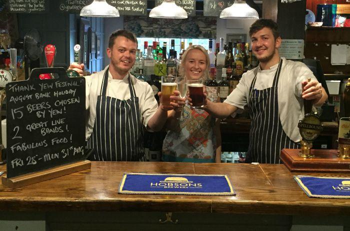 Yew Tree Inn celebrates five years