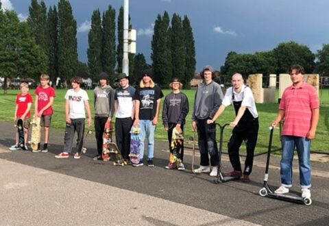 Youngsters call for new Barony skatepark in Nantwich backed by MP