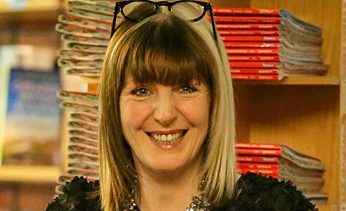 Yvette Fielding at Nantwich Bookshop & Coffee Lounge (1)