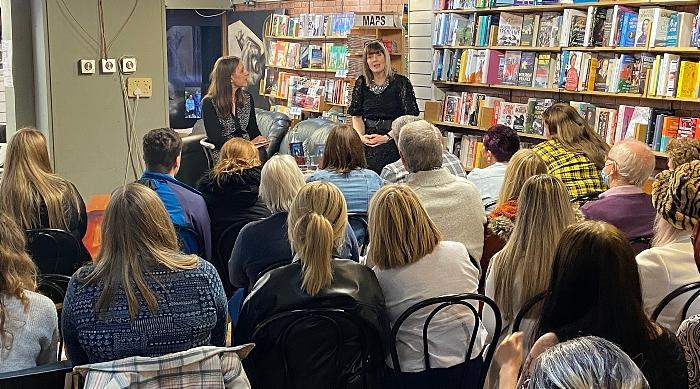 Yvette Fielding is interviewed by Katherine Woodfine (1)