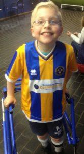Zac Harris, Shrewsbury Town fan, life-changing operation