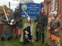 Nantwich pupils visited by Mercenaries of Mercia