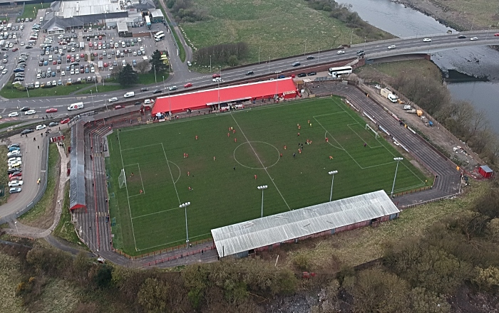 aerial view workington v nantwich