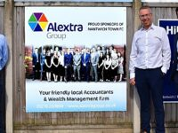 Alextra Group renew sponsorship support for Nantwich Town