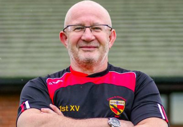 andy dudley, coach at Crewe & Nantwich RUFC