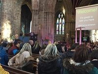 "St Mary's Church ""Crib Service"" proves hit with Nantwich families"