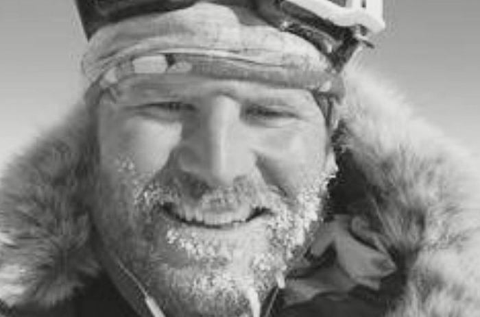 antarctic expedition - Chris Brooke