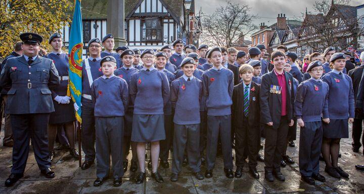 Armistice centenary in Nantwich 17