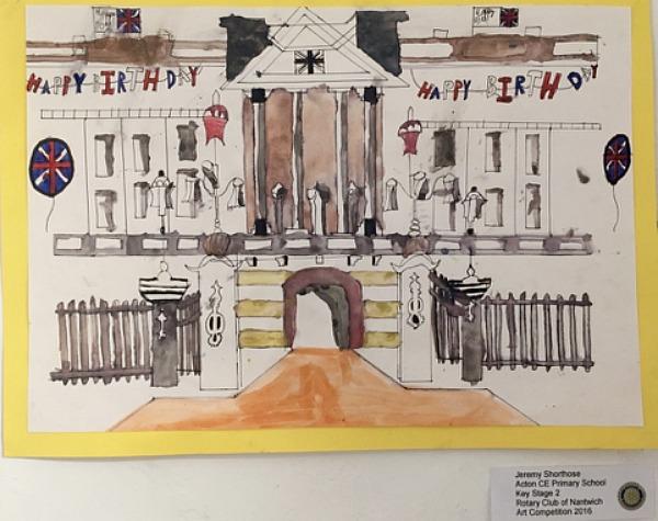 art competition winner Jeremy Shorthose