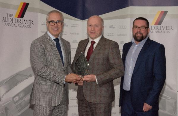 audi swansway dealership award