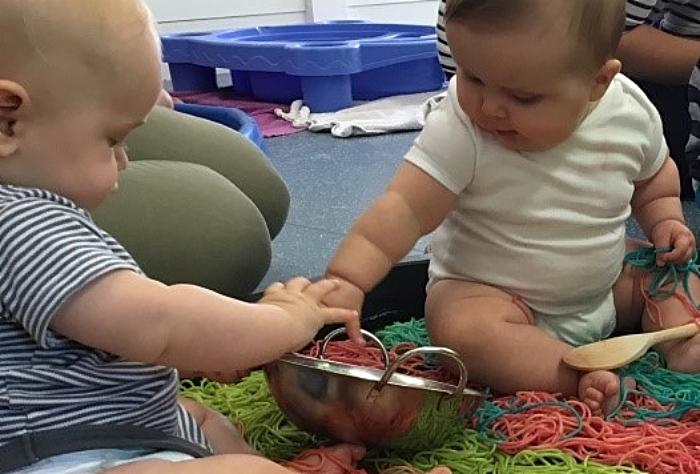baby room Elmscot nursery