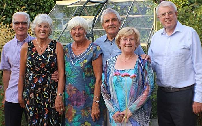 badminton couples 50 years on