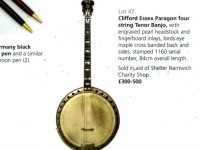 Mystery banjo could raise £500 for Nantwich charity shop
