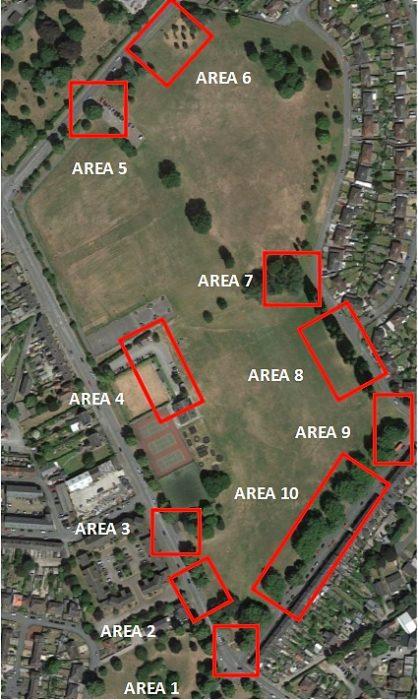Barony Park 'vulnerable' areas