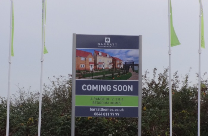 barratt homes new Queens Drive development