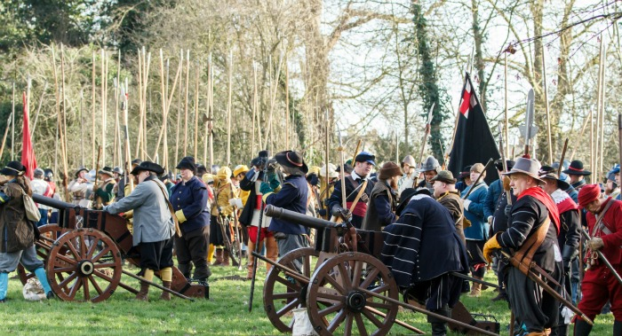 battle of nantwich holly holy day, pic by Simon J Newbury