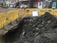 Burst water main causes chaos in Nantwich town centre
