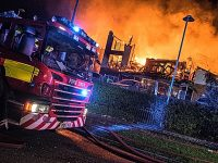 Probe begins into cause of Beechmere complex fire in Crewe