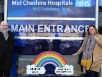 "Parish council donates ""thank you"" bench to South Cheshire NHS workers"