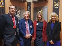 House of Commons Speaker John Bercow takes Brexit break to visit Nantwich!