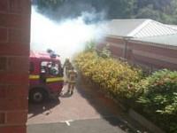 Crews tackle bin fires on Nantwich business park