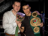 Boxing world champion Robin Reid attends Nantwich event