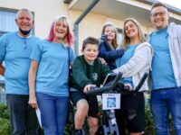 Wistaston staff cycle to Disneyland Paris for pupil with rare brain cancer