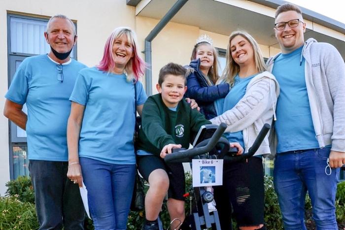 brain cancer - brave Acacia and academy staff