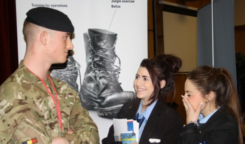 Nantwich students enjoy Careers Convention at Brine Leas School