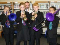 Brine Leas youngsters enjoy musical instruments day