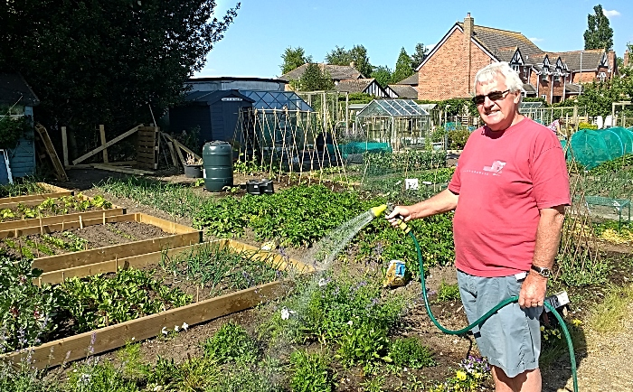 brookfield allotments in nantwich