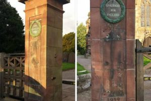 Anger as thieves swipe historic war memorial plaques from Bunbury church