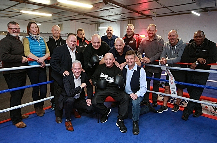 businesses back celebrity boxing night