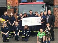 Nantwich Fire Cadets put through their paces by town Mayor