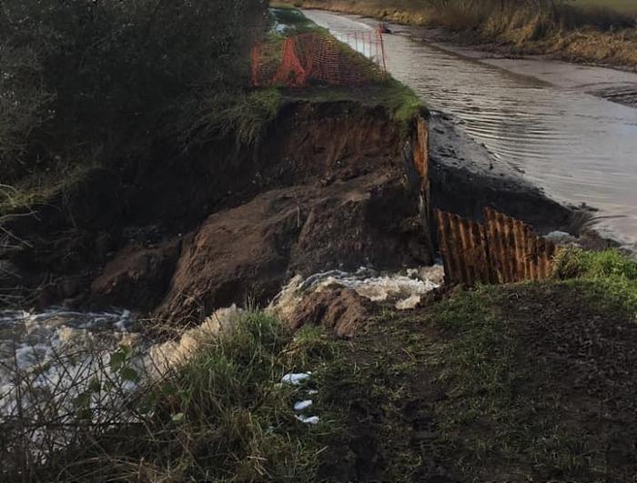 canal breach near beeston - by nik lambert